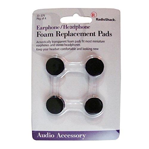 Almohadillas de espuma para la mayoría de los cascos con micrófono intrauricular