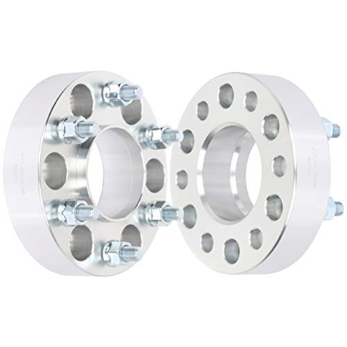 "ROADFAR 2pcs 1.5"" 6x5 12x1.5 78.1 Wheel Spacers fit for Chevrolet Trailblazer EXT for GMC Envoy XL for Oldsmobile Bravada"