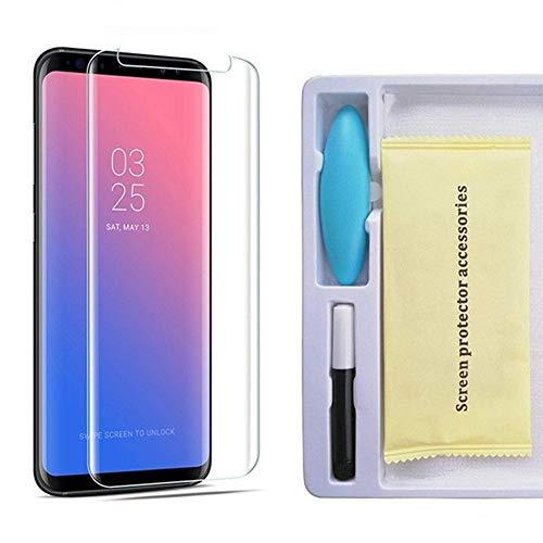CFPacrobaticS Proteggi schermo in vetro temperato con protezione UV completa per Samsung S7 / S8 / S9 Plus Note 9 per Samsung Galaxy S8