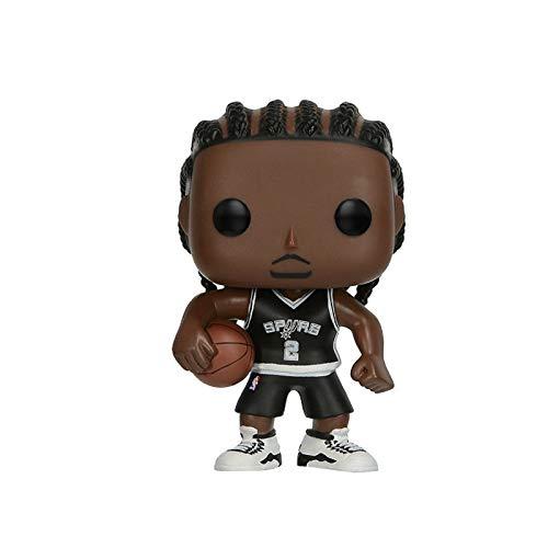 Funko NBA Figure Kawhi Leonard SA #2 Away Chibi PVC Q Version Vinyl 10cm Gift