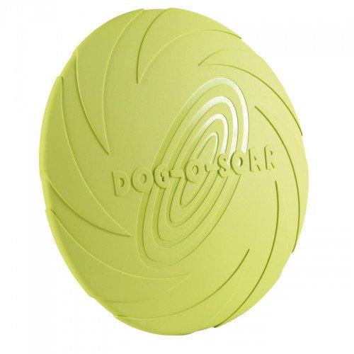 TRIXIE Dog Disc Naturgummi-Frisbee, schwimmend - 22 cm, Diverse Farben