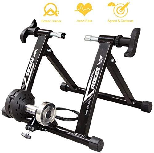 GHDE & Home Trainer fiets Smart en hometrainer, magnetisch, verstelbaar, turbo-fiets, gebruik je fiets als hometrainer