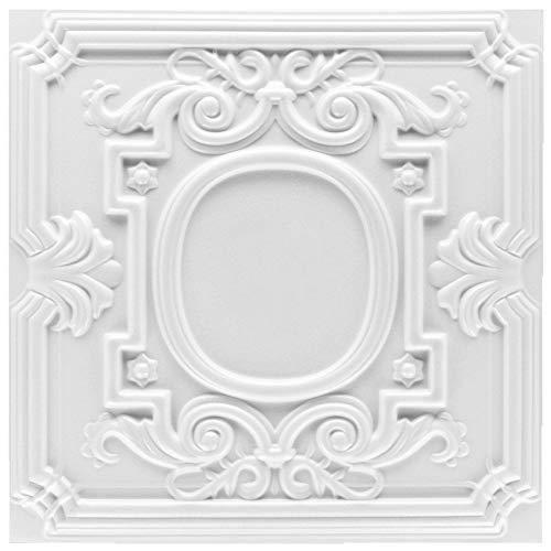 20 qm | Deckenplatten | XPS | formfest | Hexim | 50x50cm | Nr.35