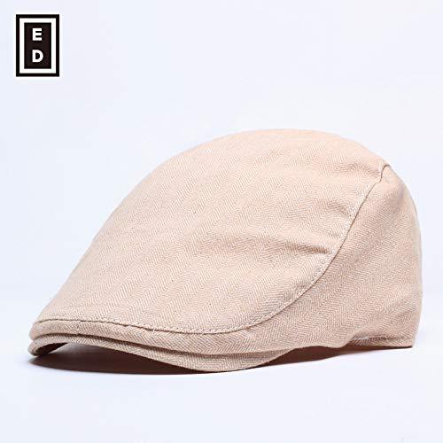 sdssup Sommerhut Herren Mütze Damen Baskenmütze Khaki verstellbar
