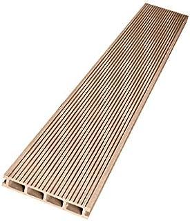 ウッドデッキ 人工木材 人工木 部材 樹脂ウッドデッキ 床材H-B110 150×25×2000mm【H-B110】【2色選択可】 (ナチュラル・12本セット)