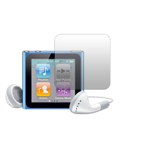 Slabo 2 x Protector de Pantalla iPod Nano 6G lámina Protectora de Pantalla lámina Protectora Ultra Transparente Invisible Made IN Germany