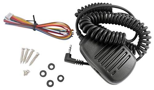 Rockville RXM-F3 1600 Watt Marine/Boat 4 Channel Amplifier Amp+PA Microphone