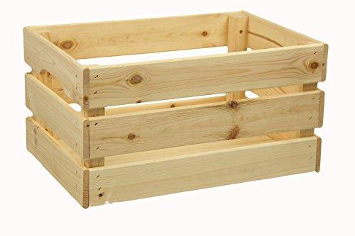 Kist van houten kist houten kist grenenhout bescherming zoals IKEA 46x31x27cm