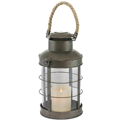 HEFYBA Lanterne en Verre pour Bougie Motif ouragan Grand mod/èle Transparent Id/éal pour la Maison et Les Mariages D/écoration int/érieure /él/égante