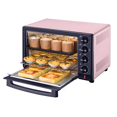 30l Mini Oven Cooker With Fermentation/Thawing/Grill And Multi Cooking Fucntions,3-Layer Shelf,Adjustable Temperature Control And Timer,1600w