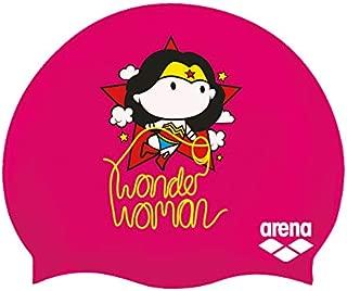 Arena WB Superheros Silicone Jr Youth Swim Cap