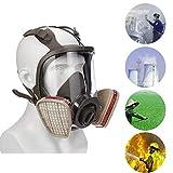 4 Stile 6800 Maschera Gas Viso Regolabile Maschera di Gas Faccia Pieno Viso Pittura Respiratore Per Maschera Gas Respiratore Filtro