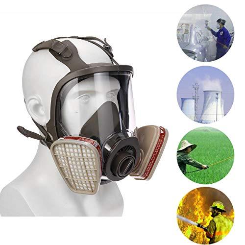 4 Style 6800 Face Gas Mask verstelbaar Gasmasker Full Face Facepiece Verf Spuitmasker Voor Gasmasker Respirator Filter