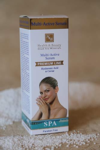 H&B Dead Sea Multi Active Serum with Hyaluronic Acid & Caviar 40ml / 1.35 fl.oz