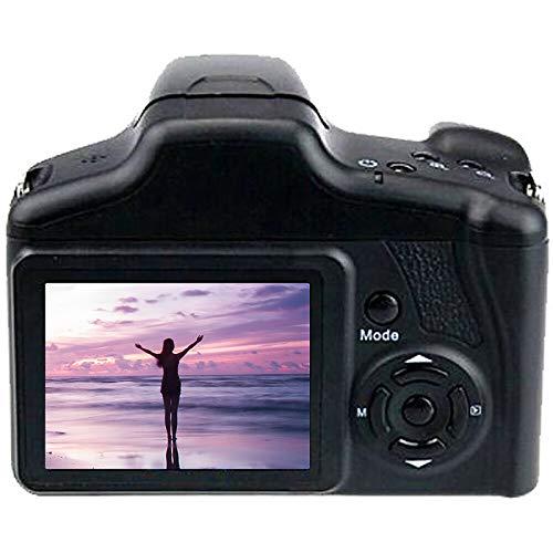 HRNAKDFKL Cámara digital 1080P FHD 2,4 pulgadas, cámara compacta, 16 megapíxeles, cámara réflex digital, zoom digital 16x, cámara de...
