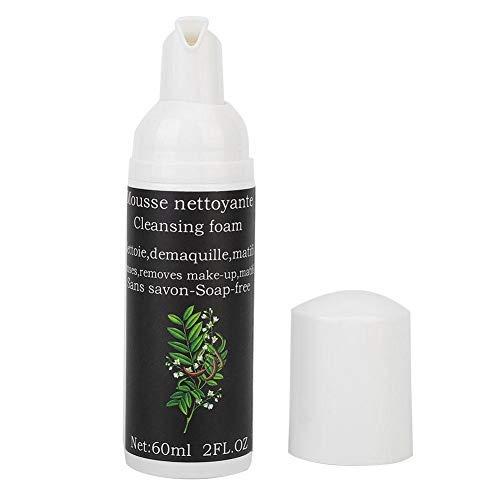 60ml Wimpernverlängerungs Reinigungsmittel, Wimpernverlängerungs Reinigungsschaum, Wimpern Shampoo Werkzeug Formel zur Reinigung von Wimpernschmutzöl