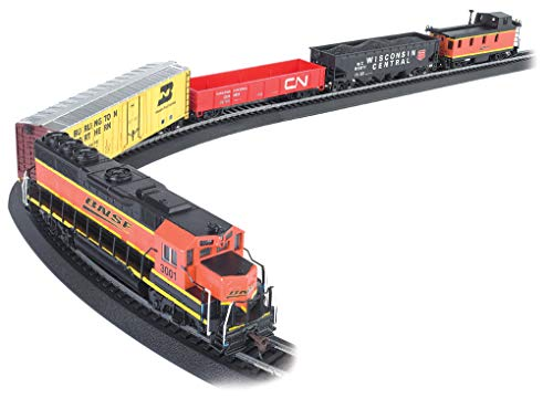 Bachmann Trains - Rail Chief Ready To Run 130 Piece Electric Train Set - HO Scale