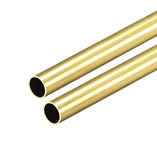uxcell Brass Round Tube
