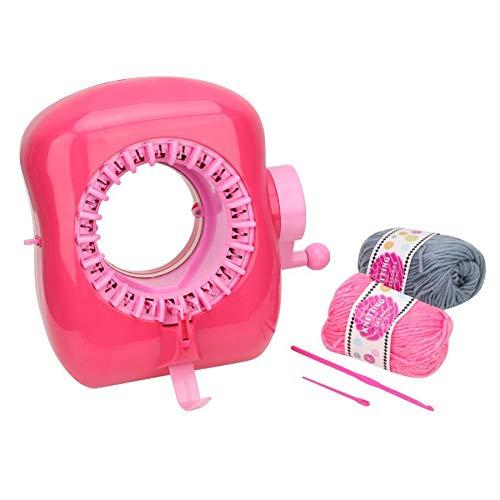 GDS Tipo de cámara de Tejer Telar de Mano, Herramientas de la Bufanda del Sombrero de los niños DIY de Coser Juguetes educativos 22 de Aguja de Tejer, máquina para Hacer Punto para los niños