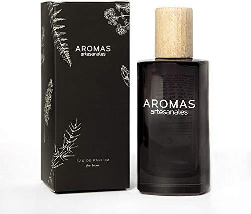 AROMAS ARTESANALES - Eau de Parfum Olite | Perfume con vaporizador para hombres | Fragancia Masculina 100 ml | Distintos Aromas - Encuentra el tuyo Aquí