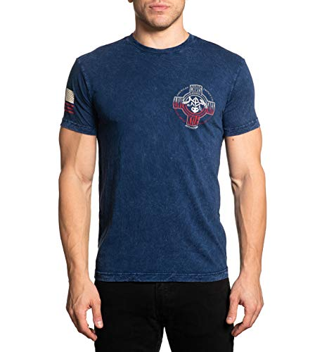 Affliction Men's Chris Kyle Crossed Short Sleeve Tee