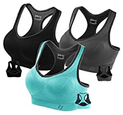 High Support For Cup Under C,Pull On closure, Pullover Style Sports Bra,Machine Wash (Hand Wash Recommanded) Active Workout Racerback Seamless Sports Bra & Tight Fitting for Support -- Super Comfort and Super Soft Fabric -- Moisture Wicking and Perfe...