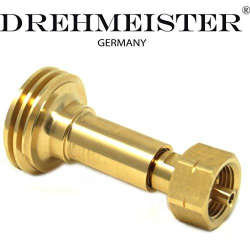 DREHMEISTER Acme LPG Adapter Gasflaschen Adapter Deutschland Belgien Irland Luxemburg Gasflasche befüllen + Beutel