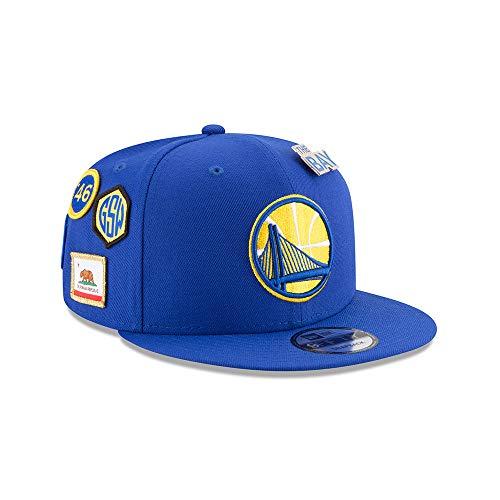 New Era Golden State Warriors 2018 NBA Draft Cap 9FIFTY Snapback Adjustable Hat- Blue