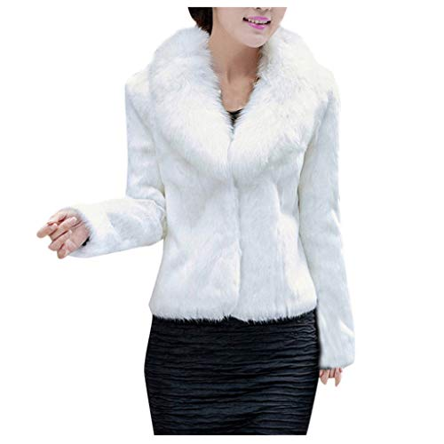 Bontmantel dames kunstbont warmer winterjas 2019 elegante stijlvolle outdoorjassen faux voor pluizige parka jas dikker oversize kort mantel