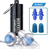 High Fidelity Concert Earplugs - Hearing Protection Ear Plugs for Concerts, Musicians, Motorcycle - Noise Reduction 23db...