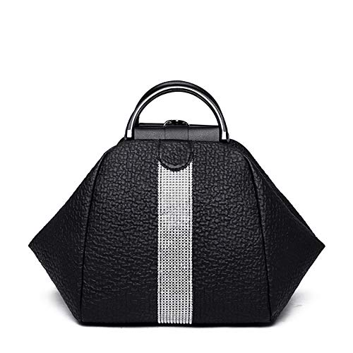 YLLHK Women's Mini PU Leather Backpack, Soft and Comfortable Zipper Shoulder bag, Multifunctional Large Capacity Travel Handbags, Suitable for Shopping Travel and Daily Life, 26 * 22 * 24CM