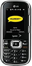 LG Rumor 2 LX265 Black Sprint Cell Phone