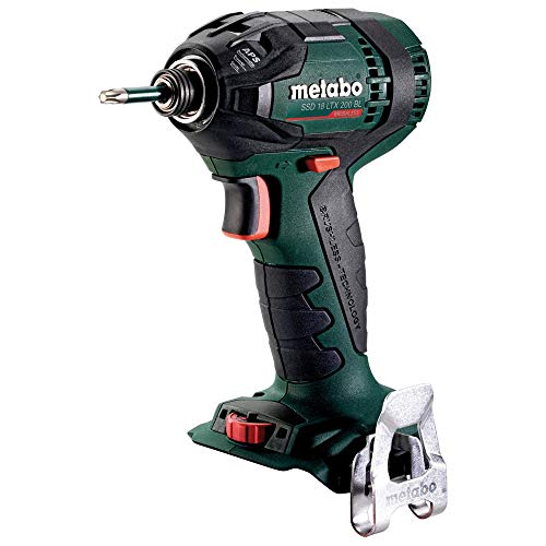Metabo SSD 18 LTX 200 BL power wrench zwart, 2900 rpm - Power Wrenches (accu, 1,3 kg, 18 V, 2900 tpm, 200 Nm)