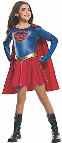 Rubie's Official - Disfraz de Supergirl (serie de televisión), tamaño S (3-4 años)