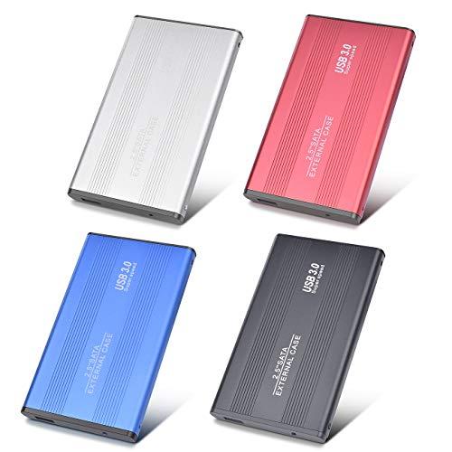 Disque Dur Externe 2to USB3.0 Disque Dur Externe pour PC, Mac, Ordinateur de Bureaup, Ordinateur Portable, Wii U, Xbox(2to, Noir)