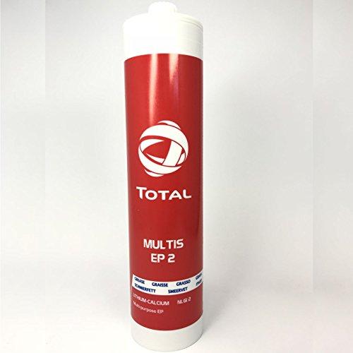 Total 500g Schraubkartusche MULTIS EP 2 Mehrzweck-EP-Lithium/Calcium-Schmierfette