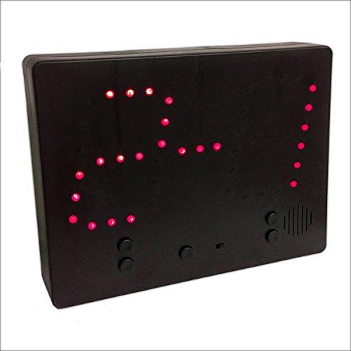 Eaxus LED Ergebnistafel 0-9 Anzeigetafel Spielstandanzeige Zähltafel
