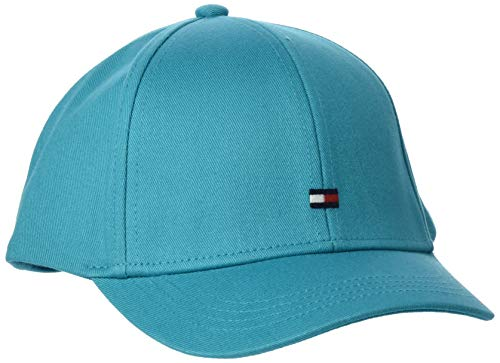 Tommy Hilfiger Unisex Bb Baseball Cap, Blau (Exotic Teal Ctx), Large