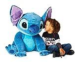 DS Disney Store Lilo & Stitch Peluche Originale Pupazzo Gigante Gigantesco