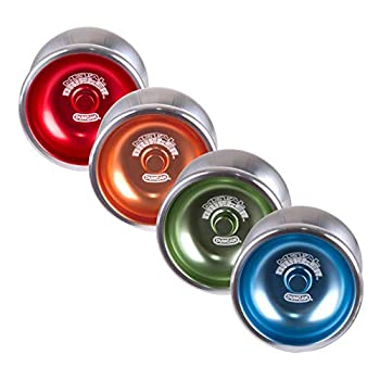 Duncan Toys Metal Drifter Yo-Yo String Trick Yo-Yo with Counterweight Ball Bearing Axle and Aluminum Body Colors May Vary