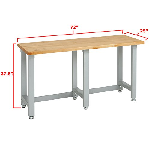 Seville Classics Heavy Duty Commercial Workbench UHD20206