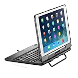 NEW TRENT Airbender iPad case with Keyboard, Detachable Wireless Bluetooth iPad Keyboard case, Comfortable Typing, Ultimate Protection for iPad 6th Generation Keyboard, iPad air 2 Keyboard case