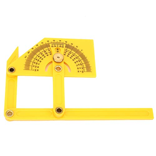 Regla del ángulo del transportador del puntero de la alta precisión del transportador para el trabajo manual para el carpintero
