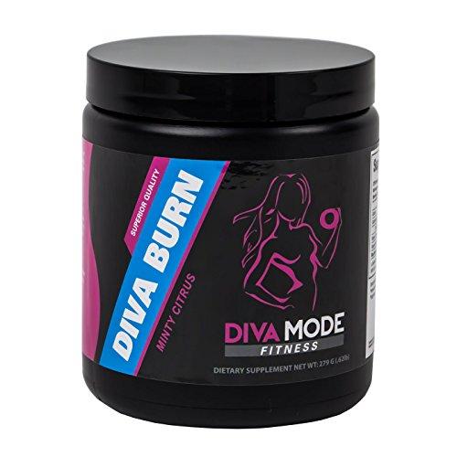 Best Caffeine Free Thermogenic Fat Burner, Appetite Suppressant, Energy Boosting Advanced Diet Weight Loss Supplement for Women - Diva Burn