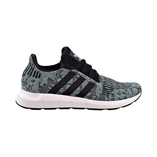 adidas Originals Men's Swift Running Shoe (7 M US, Easy Mint/Core Black/Cloud White)
