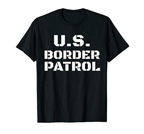 Halloween Border Patrol Costume Immigration Customs Officer T-Shirt