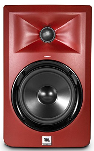 Best Buy! JBL LSR305 5 in. Limited Edition Powered Studio Monitor - Matte Red