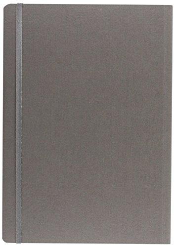 Fabriano taccuino con elastico – colore grigio– fogli puntinati - formato a6
