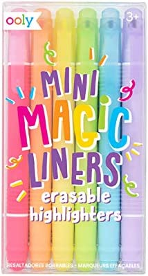 OOLY Mini Magic Liners Erasable Popular of - 6 Ranking TOP16 Highlighters Set