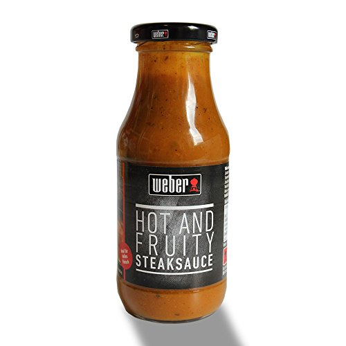 Weber Hot And Fruity Steaksauce (240ml Glas)
